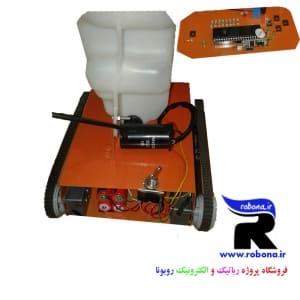 پروژه ربات آتش نشان