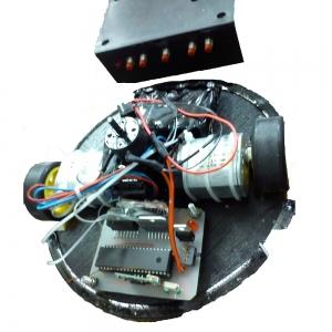 پروژه ی کامل ربات جنگجو ۲(همراه با مستندات ساخت ربات)