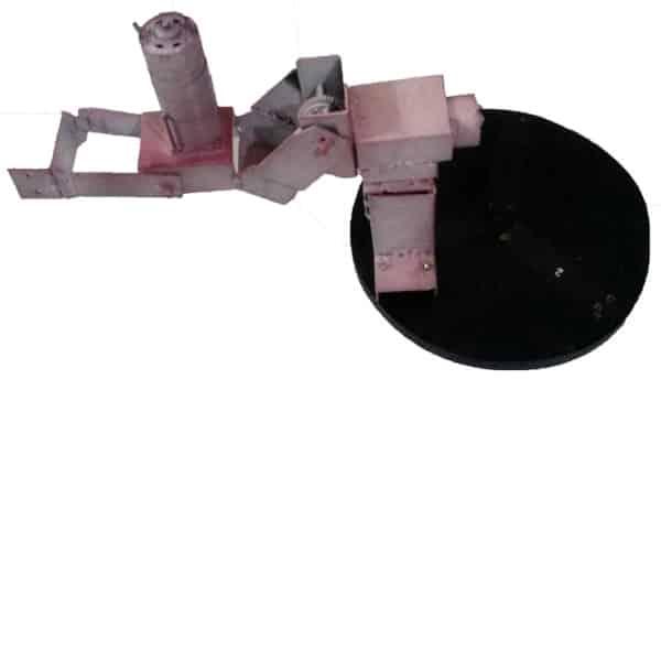 بازوی رباتیک سه درجه آزادی نیمه صنعتی(جابه جایی ۴ کیلو گرم)
