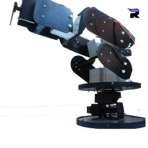 بازوی رباتیک نیمه صنعتی(۵ درجه آزادی)