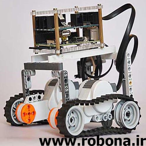 ربات مسیر یاب با سنسور مادون قرمز