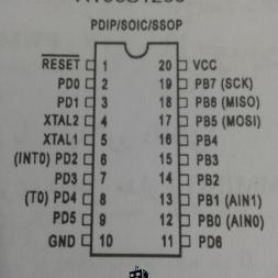 ویژگی های میکروکنترلرهای AT90S AVR