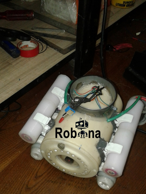 پروؤه ربات زیر دریایی