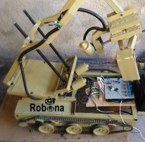 پروژه رباتیک نظامی